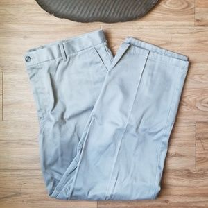 Grey Dockers Classic Fit Slacks